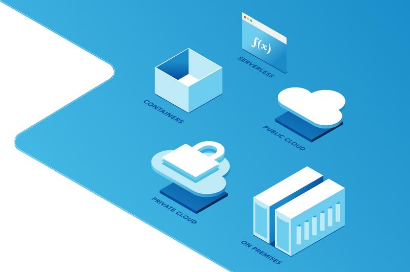 hybrid cloud managing platform